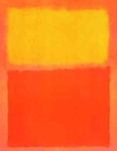 """Orange And Yellow"" - Mark Rothko - 1956"